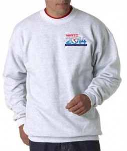 WRTC2014 white sweatshirt