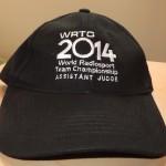 WRTC2014 Assistant Judge Hat