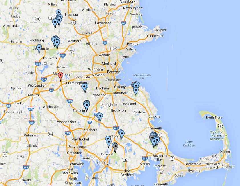 WRTC2014 Operating Sites
